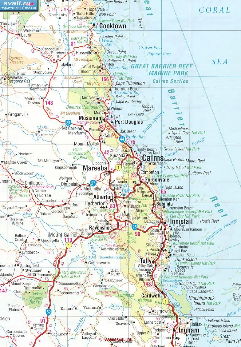 Большой барьерный риф австралия англ