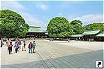 Храм Мэйдзи (Meiji Shrine), Токио, Япония.