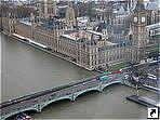 Вестминстерский мост и аббатство (Westminster Bridge), Лондон, Великобритания.