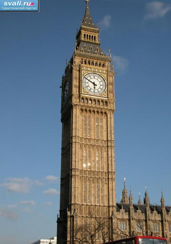 Биг бен лондон великобритания