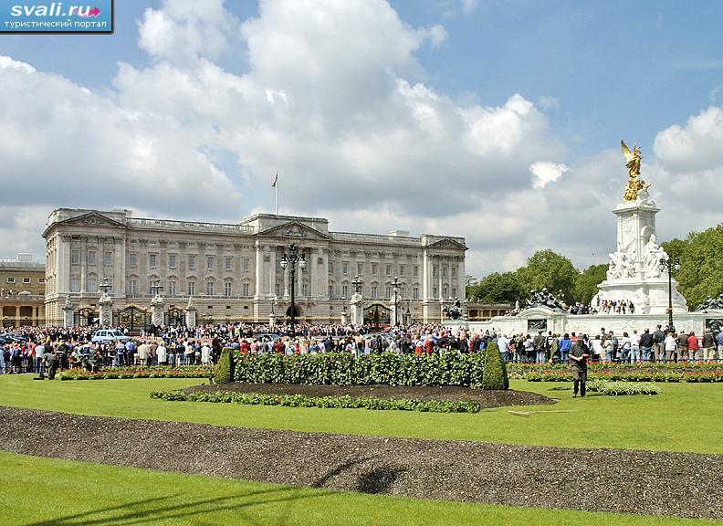 Дворец buckingham palace лондон