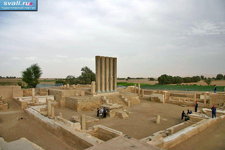 Руины храма Луны, Мариб, Йемен. | Йемен | фотографии ...