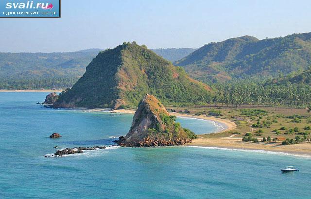 Кута остров ломбок индонезия