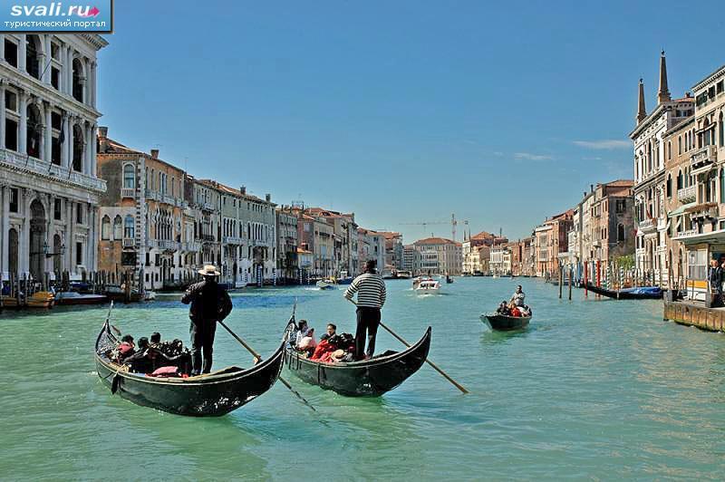 Гондолы венеция италия