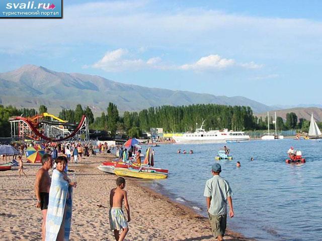 фото киргизия озеро иссык-куль