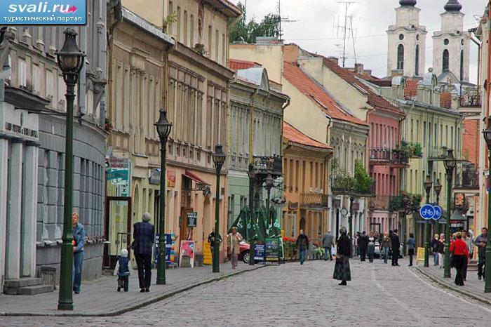 Улица старого города каунас литва