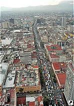 Мехико, столица Мексики.