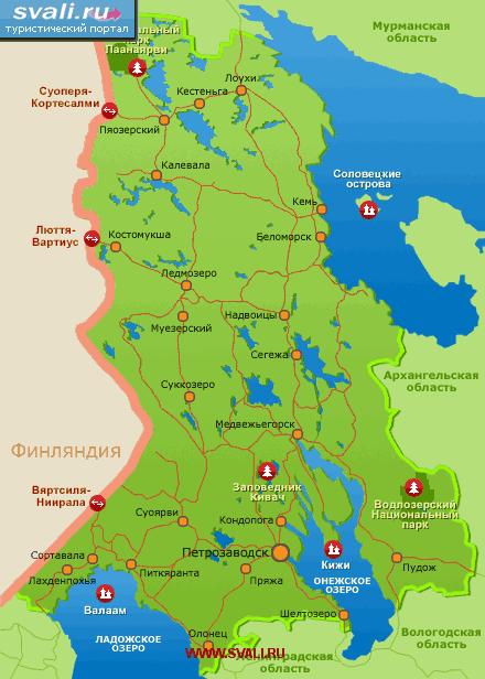 карта карелии скачать бесплатно - фото 3