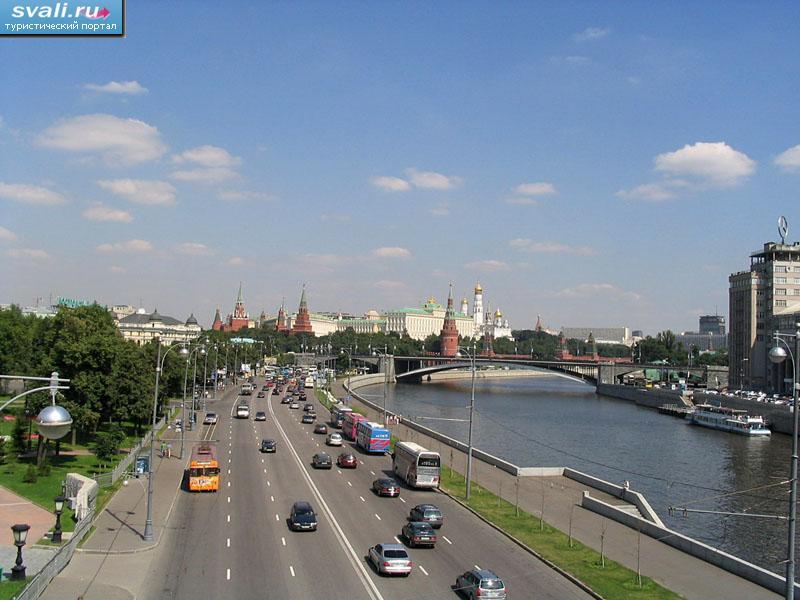 Набережная москвы реки россия
