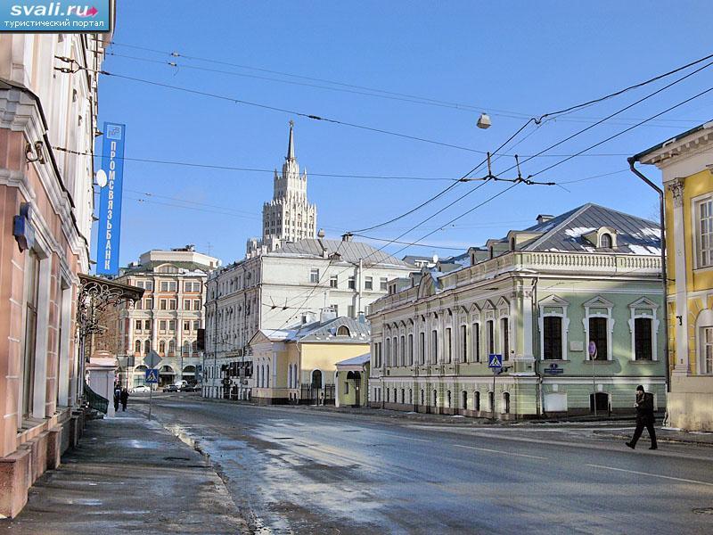 Мясницкая улица москва россия