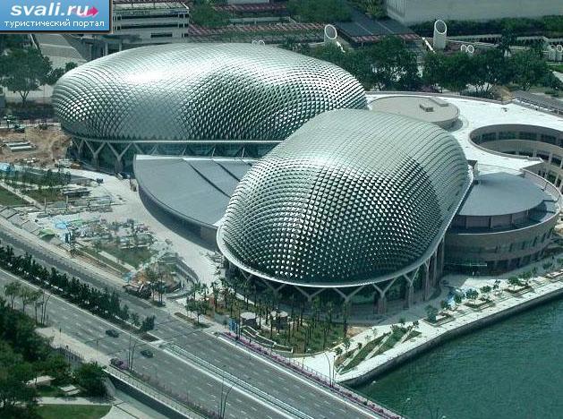 Сингапурский театр, Сингапур.  Сингапур фотографии Туристический портал Svali.RU.