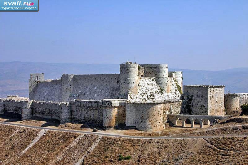 Замок крестоносцев крак де шевалье
